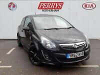 2012 Vauxhall Corsa 1.2 Limited Edition 3 door Petrol Hatchback