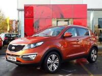 2014 Kia Sportage 1.7 CRDi ISG 3 5 door Diesel Estate