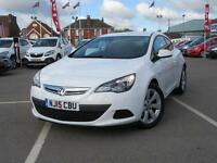 2015 Vauxhall Astra GTC 1.4T 16V Sport 3 door Petrol COUPE