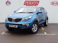 2012 Kia Sportage 1.6 GDi 1 5 door Petrol Estate