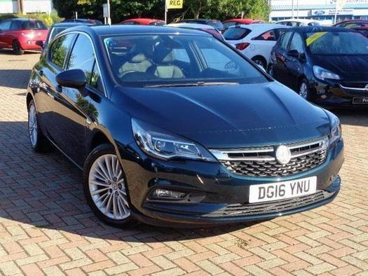 2016 Vauxhall Astra 1.6 CDTi 16V Elite Nav 5 door Diesel Hatchback