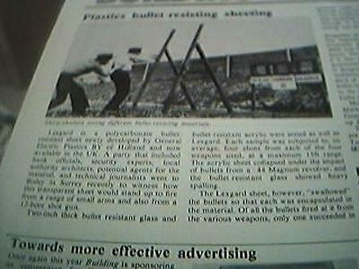 ephemera 1975 article lexgard resistant sheeting