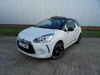2015 Citroen DS3 1.6 THP DSport 2 door Petrol Convertible