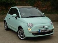 2015 Fiat 500C 1.2 Lounge 2 door [Start Stop] Petrol Convertible
