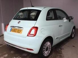 2015 Fiat 500 1.2 Lounge 3 door Petrol Hatchback