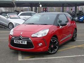 2012 Citroen DS3 1.6 e-HDi Airdream DStyle Plus 3 door Diesel Hatchback