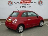 2011 Fiat 500 1.2 Pop 3 door [Start Stop] Petrol Hatchback