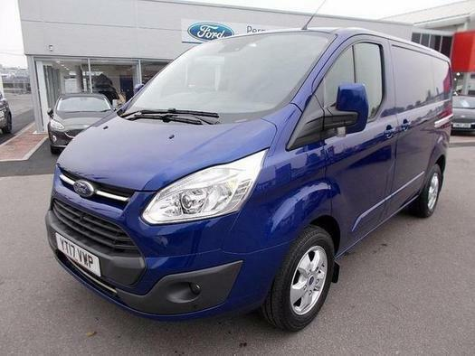 2017 Ford Transit Custom 2.0 TDCi 130ps Low Roof Limited Van Diesel
