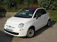 2014 Fiat 500C 1.2 Pop 2 door [Start Stop] Petrol Convertible