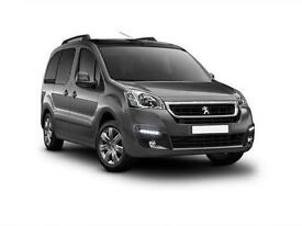 2016 Peugeot Partner Tepee 1.6 BlueHDi 75 Active 5 door Diesel Estate