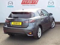 2015 Lexus CT 200h 1.8 Advance 5 door CVT Auto Hybrid Hatchback