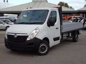 2016 Vauxhall Movano 2.3 CDTI H1 Chassis Cab 125ps Diesel