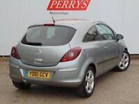 2011 Vauxhall Corsa 1.2i 16V [85] SXi 3 door Petrol Hatchback