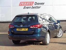 2017 Vauxhall Astra 1.4T 16V 150 Elite Nav 5 door Auto Petrol Estate