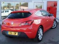 2014 Vauxhall Astra GTC 1.4T 16V 140 SRi 3 door Auto Petrol COUPE