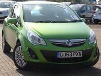2013 Vauxhall Corsa 1.2 Energy 3 door Petrol Hatchback