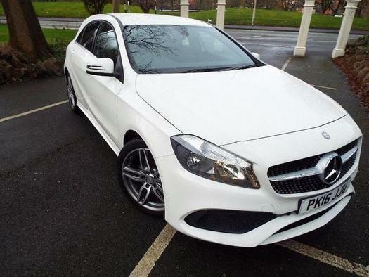 2016 Mercedes A Class A180 Amg Line 5 Door Petrol Hatchback In