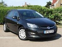 2013 Vauxhall Astra 1.6i 16V Exclusiv 5 door Auto Petrol Estate
