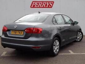2011 Volkswagen Jetta 1.6 TDI CR Bluemotion Tech S 4 door DSG Diesel Saloon