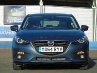 2014 Mazda 3 2.2d SE-L Nav 5 door Diesel Hatchback