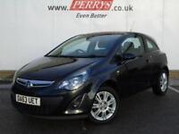 2013 Vauxhall Corsa 1.2 Energy 3 door [AC] Petrol Hatchback
