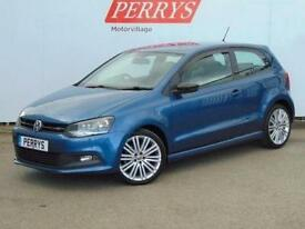2014 Volkswagen Polo 1.4 TSI ACT BlueGT 3 door Petrol Hatchback