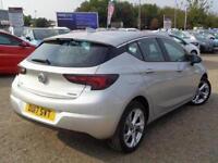 2017 Vauxhall Astra 1.4T 16V 150 SRi Nav 5 door Auto Petrol Hatchback