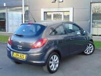 2014 Vauxhall Corsa 1.2 Excite 3 door [AC] Petrol Hatchback
