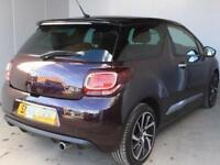 2016 Citroen DS3 1.2 PureTech Prestige 3 door EAT6 Petrol Hatchback