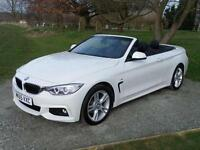 2015 BMW 4-Series 420d M Sport 2 door Diesel Convertible