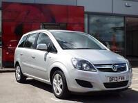 2013 Vauxhall Zafira 1.6i [115] Exclusiv 5 door Petrol People Carrier