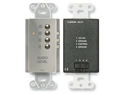 Rlc Remote Level (RDL DS-RLC3 Remote Level Controller/Preset Levels/stainless steel)