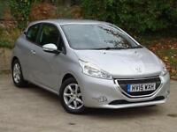 2015 Peugeot 208 1.2 VTi Active 3 door Petrol Hatchback