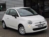 2016 Fiat 500 1.2 Pop 3 door Petrol Hatchback