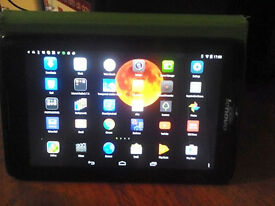 LENOVO TAB 2 A8-50 TABLET WITH CASE & SCREEN PROTECTOR.