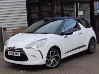 2015 Citroen DS3 1.6 BlueHDi DStyle Nav 2 door Diesel Convertible