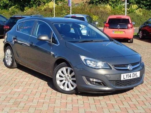 2014 Vauxhall Astra 1.6i 16V Elite 5 door Auto Petrol Hatchback