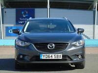 2014 Mazda 6 2.2d Sport Nav 5 door Diesel Estate
