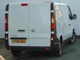 2016 Vauxhall Vivaro 2700 1.6CDTI 90PS H1 Van Diesel