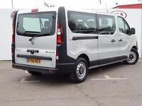 2016 Vauxhall Vivaro 2900 1.6CDTI BiTurbo 125PS H1 Combi 9 Seat Diesel Van