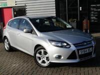 2014 Ford Focus 1.0 EcoBoost Zetec Navigation 5 door Petrol Hatchback