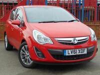 2012 Vauxhall Corsa 1.4 SE 5 door Auto Petrol Hatchback