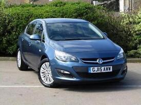 2015 Vauxhall Astra 1.6 CDTi 16V ecoFLEX Excite 5 door Diesel Hatchback