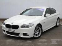 2012 BMW 5-Series 520d M Sport 4 door Diesel Saloon