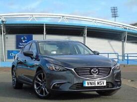 2016 Mazda 6 2.2d Sport Nav 4 door Diesel Saloon