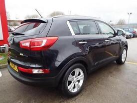 2011 Kia Sportage 1.6 GDi ISG 2 5 door Petrol Estate