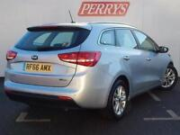2017 Kia Ceed SW 1.6 CRDi ISG 2 5 door Diesel Estate