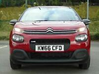 2016 Citroen C3 1.2 PureTech 82 Touch 5 door Petrol Hatchback