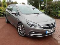 2016 Vauxhall Astra 1.6 CDTi 16V 136 Elite Nav 5 door Diesel Estate