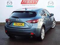 2014 Mazda 3 2.2d Sport Nav 5 door Auto [Leather] Diesel Hatchback